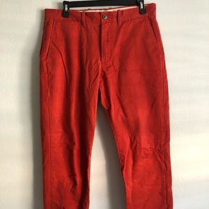 J Crew Slim Fit Chino Pants 32x30